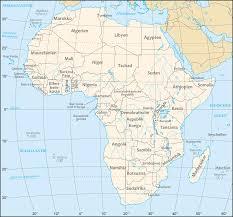 Africa Continent Map by African Continent De U2022 Mapsof Net