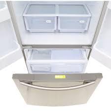 Samsung Cabinet Depth Refrigerator Review Samsung Rf18hfenbsr French Door Refrigerator Best