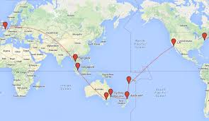 Us Airways Route Map by My Top 7 Gap Year Routes And Round The World Ticket Ideas