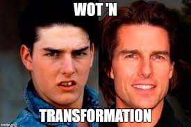 Tom Cruise Meme - tom cruise before and after imgflip