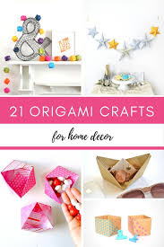 Paper Craft Home Decor 21 Origami Paper Crafts For Your Home