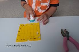 play at home mom llc hole punch letters