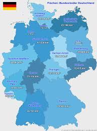 fl che deutschland bundesländer flächen größen deutschland