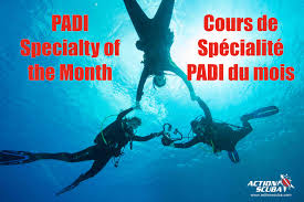 padi night diver specialty course montreal scuba diving