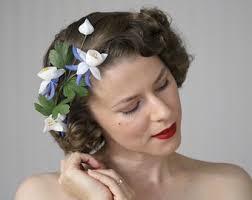 1950s hair accessories pink floral crown flower wreath for womens hair 1950s hair