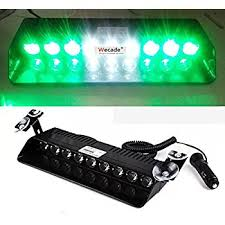 xprite green 16 led high intensity led enforcement