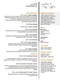 Resume Samples For Designers by Interior Designer Sample Resume Resumecompanion Com Resume
