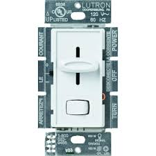 Westek 277 Volt Hd Digital by Slide Dimmers Dimmers Switches U0026 Outlets The Home Depot