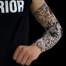 amazon com hoveox 20pcs temporary tattoo arm sleeves arts fake
