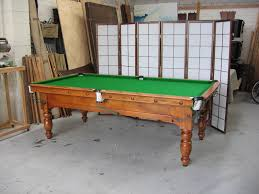 dining pool tables with sweet custome pool dining table with green