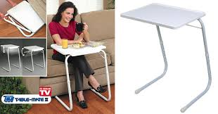 tv table as seen on tv 72 off multi functional table mate ii the ultimate portable table