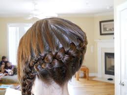 hair braid across back of head 31 cute braided hairstyles which look delicate