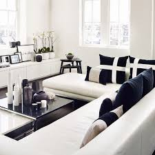 Modern Black And White Living Room Decor - Black and white living room decor