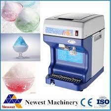 2017 sale snow flake machine ice crush machine commercial use