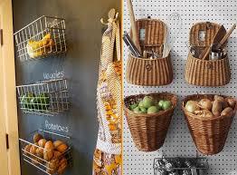 küche aufbewahrung lebensmittel aufbewahrung ideen für aufbewahrung koerbe wand