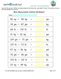 pre worksheets free math worksheets 3rd grade measurement