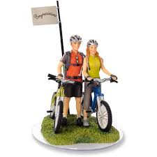 bicycle cake topper bicycle wedding cake toppers tops