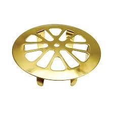 Stainless Steel Kitchen Sink Strainer - shop danco 2 in polished brass stainless steel kitchen sink