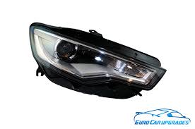 Audi Q5 Headlight - audi a6 4g bi xenon headlights left right led drl s6 c7 oem