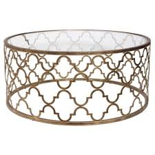 Quatrefoil Table L Uttermost Quatrefoil Coffee Table 25015