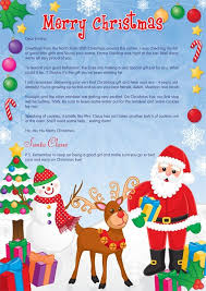 personalised letter from santa and friends