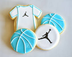 lizy b all star baby shower cookies