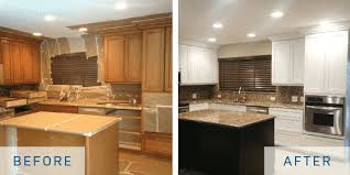 is cabinet refacing cheaper refacing vs refinishing mcmanus kitchen and bath