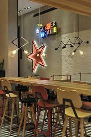Fast Food Kitchen Design Kfc Mongolia Tengis Interior Design For The 1st International