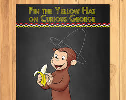 curious george party ideas curious george etsy