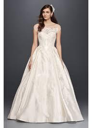 cap sleeve wedding dress oleg cassini illusion cap sleeve wedding dress david s bridal
