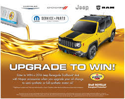 jeep renegade accessories chrysler dodge jeep ram service and parts specials and promotions