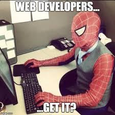 Web Developer Meme - dear web developers a letter from a digital marketer