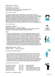 Job Description Of A Phlebotomist On Resume by Medical Assistant Resume Samples Template Examples Cv Cover