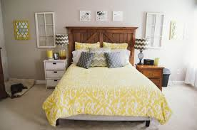 Grey And Yellow Home Decor Home Decor Our Master Bedroom Progress Still Being Molly