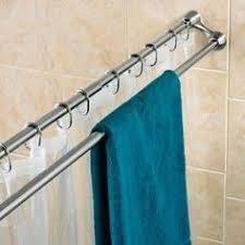 Bathroom Shower Curtain Rod Bathroom Shower Curtain Rod My Web Value