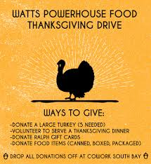 thanksgiving drive watts powerhouse food home facebook