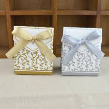 golden years creative cand box casamento wedding favors and gifts