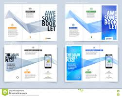 tri fold brochure template free download tri fold brochure template layout cover design flyer in a4 wit