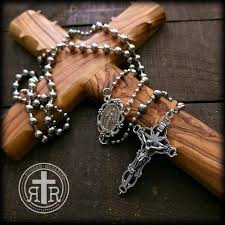 battle saints bracelets 1916 wwi service rosary replicas rugged rosaries