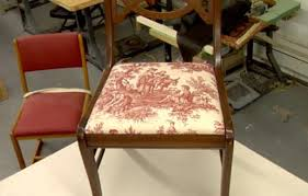 How To Reupholster Dining Chair How To Reupholster A Dining Chair This Old House