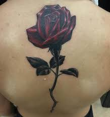 long stem rose by mikey har tattoonow
