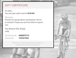 email gift certificates competitive cyclist gift certificate competitive cyclist
