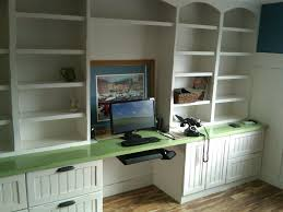 Modern Built In Desk by Home Office Home Office Shelving Built In Home Office Designs