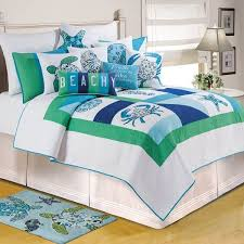 Beachy Comforters Sets 15 Beach Bedding Sets Bedding And Bath Sets