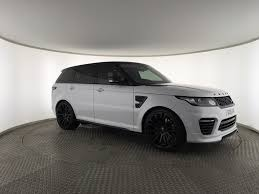 black land rover with black rims used land rover range rover sport supercharged v8 urban svr v2