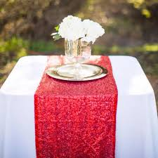 Modern Table Runners New Arrival Shiny Sequin Table Runners 11 8 X108 Wedding Banquet