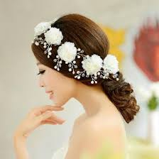 cheap hair accessories 2015 vintage beaded pearls bridal hair accessories handmade flower