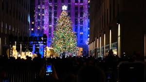 the 2013 rockefeller center tree lighting festivities in