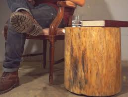 How To Make A Wood End Table by Fascinating How To Make Stump End Table Tags Stump End Table
