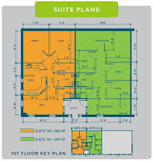 Walmart Floor Plan Two Unit Office Condo U2013 One Tenant Included Fitzgerald Realty Group